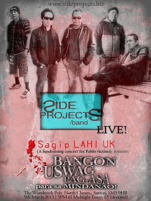 Side Projects live at Sagip Lahi UK
