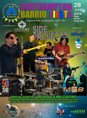 Side Projects live at Barrio Fiesta