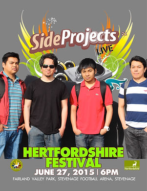 Side Projects live at Hertfordshire