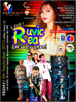 Side Projects Productions present Ruvic Rea live