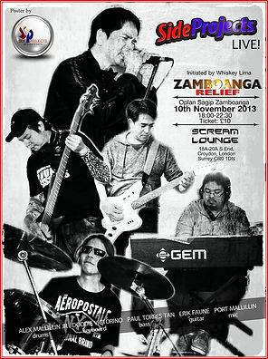 Side Projects live at  Zamboanga Relief