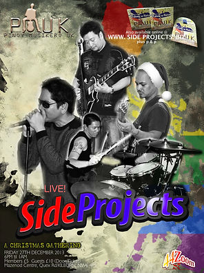 Side Projects live at PMUK xmas gathering
