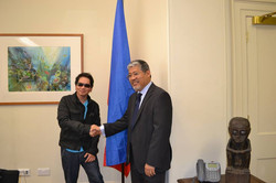 SP at the London Philippine Embassy