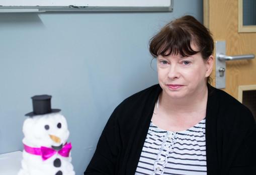 Karen at Arts and Crafts
