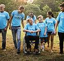Group of Diversity People Volunteer Comm