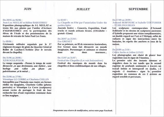 2021 Programme Saint Paul les Font 2.JP