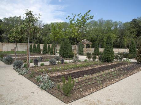 Jardin potager - Château d'Estoublon à Fontvieille