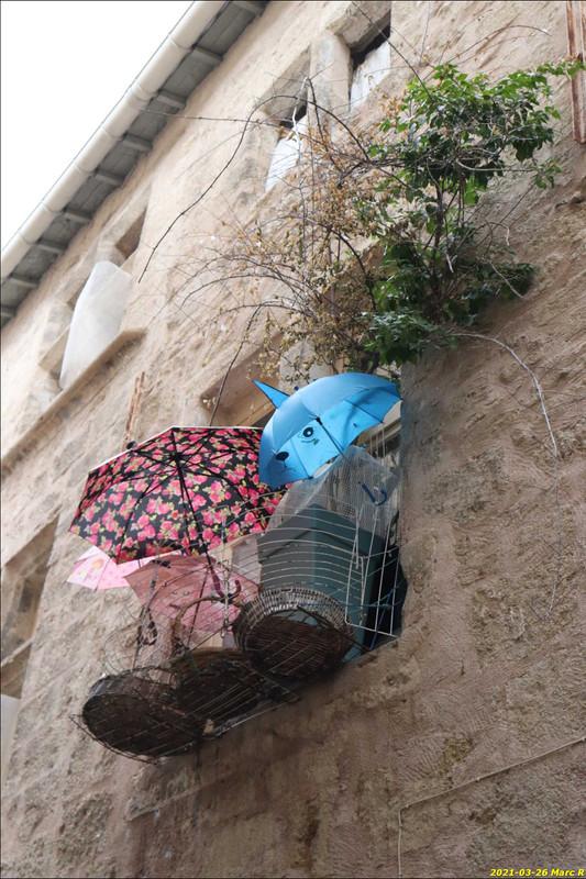 Balcon à Pézenas (Hérault)