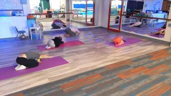 Yoga-Childs Pose