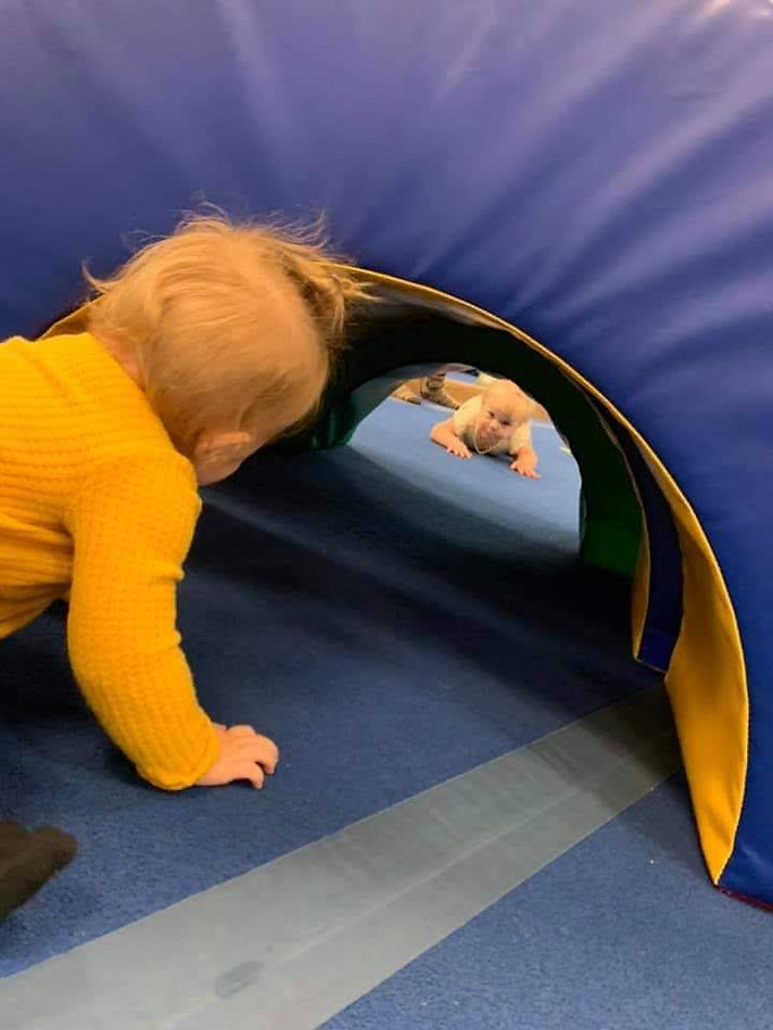 Baby friends at Baby Gymnastics