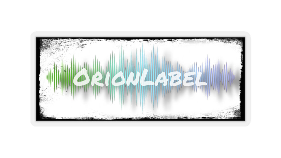 OrionLabel Waveform - Sticker
