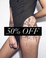 New clients get 50% off the Brazilian wa