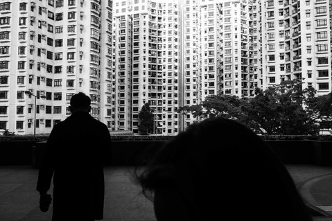 Locked in Hong Kong