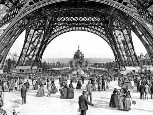 Fotos Históricas. La Torre Eiffel y la exposición Universal. Henri Roger 1889