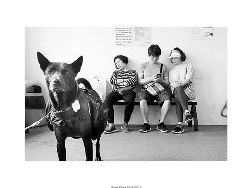 Diptych #25 Book Ping Pong