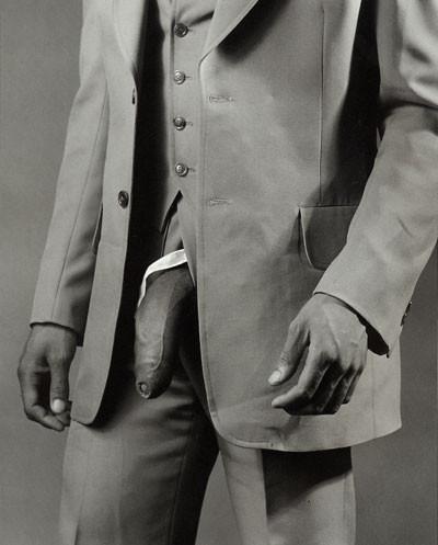 Hombre con traje de Poliéster de Mapplethorpe