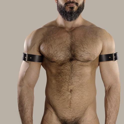 Leather Brazalete x 2