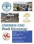 Elkton 3_6_2021 chosen cdc food giveaway