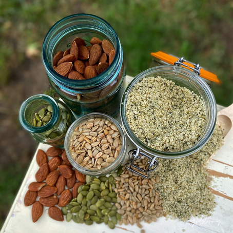 Soaking The Troubles Away: Seeds & Nuts