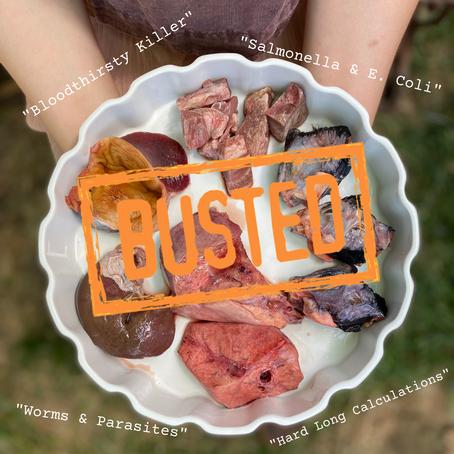 Raw Feeding Myths... Busted!