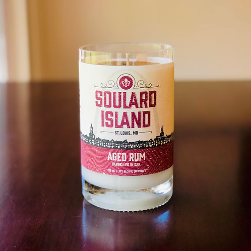 Soulard Island Aged Rum Candle