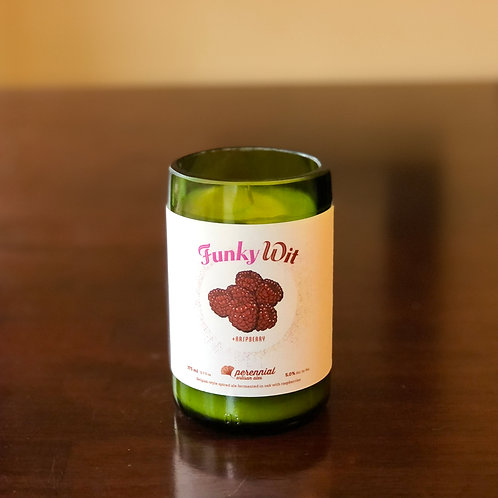 Side Project Funky Wit Raspberry Candle