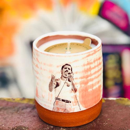 Freddie Mercury Candle