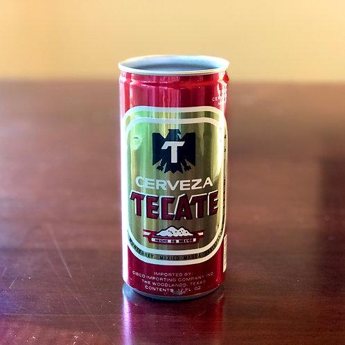 Vintage Cerveza Tecate CANdle