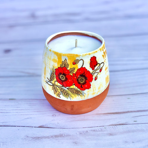 Red Wine Tumbler Candle