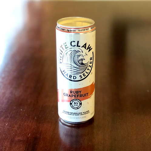 White Claw Ruby Grapefruit Candle
