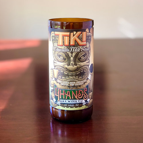 4 Hands Tiki  Candle