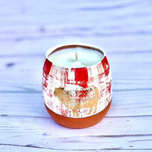 Grapefruit Wine Tumbler Candle