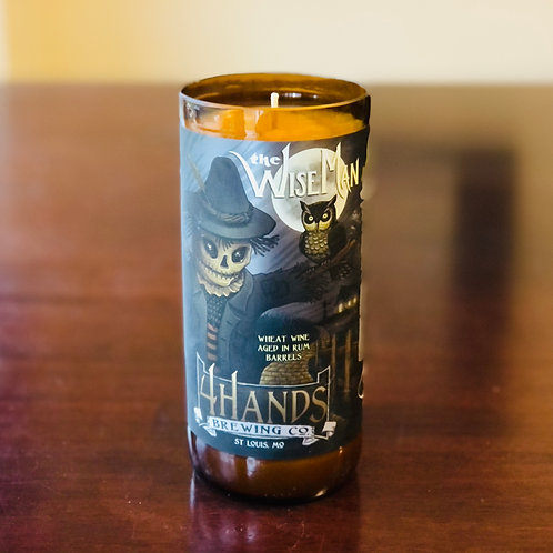 4 Hands Wise Man Candle