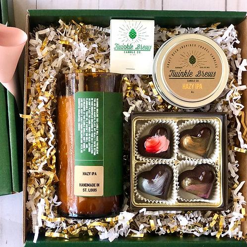 Hazy IPA Candle/Bijoux Gift Box