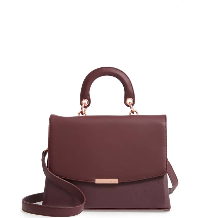 Keiira Lady Bag Faux Leather Top Handle