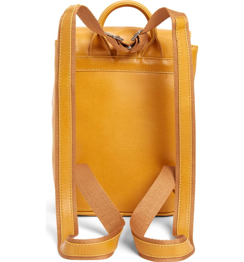 Mini Fabi Faux Leather Backpack B
