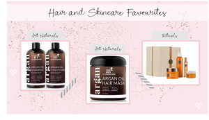 Hair and Skincare Favourites
