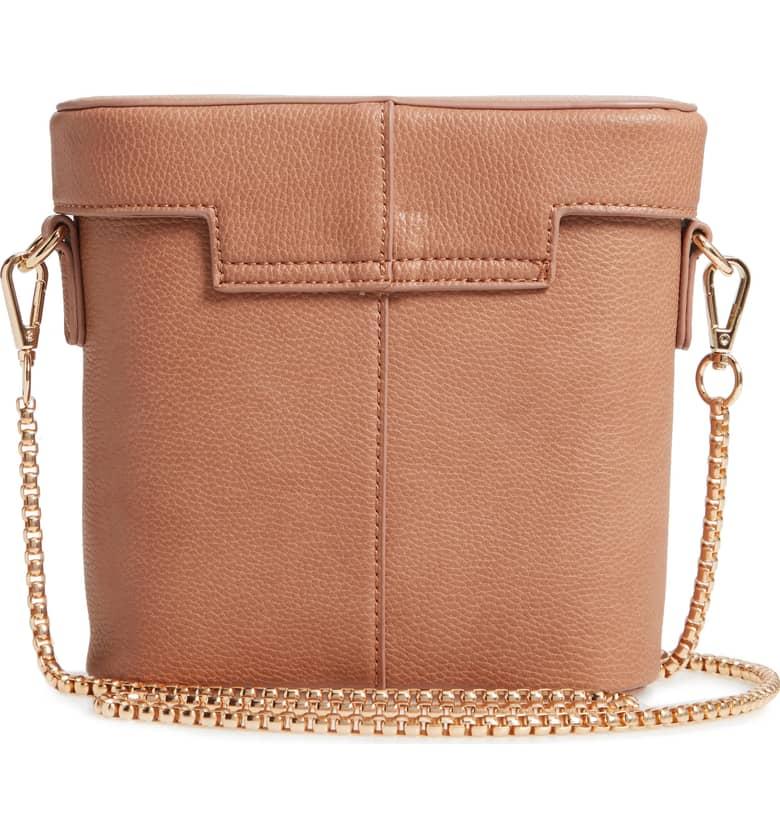 Lindsey Faux Leather Crossbody Bag B