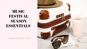 Music Festival Season Essentials & Must Haves