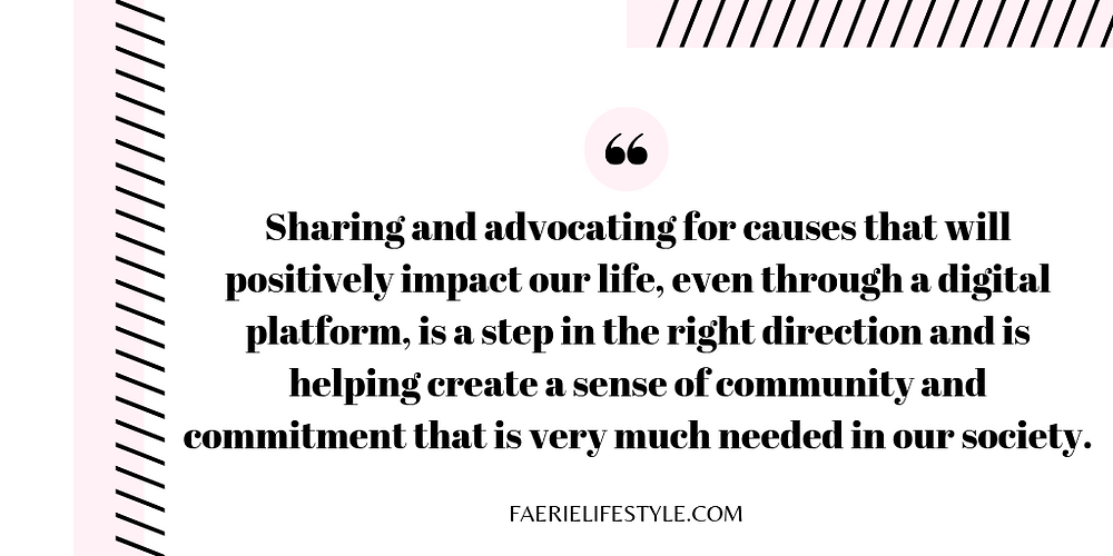 Female Advocates Using Social Media to Inspire Change