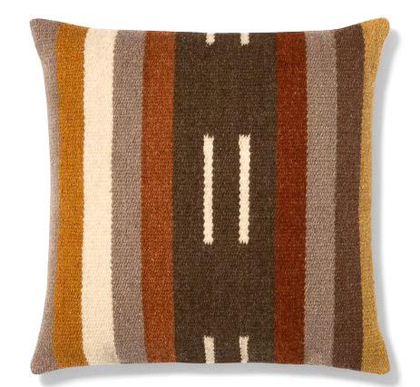 Threshold Square Woven Stripe Pillow