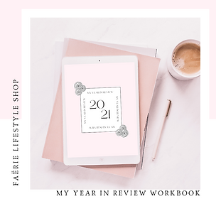 My Year in Review Workbook
