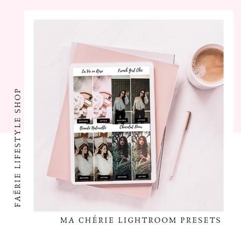 Ma Chérie Lightroom Presets Pack