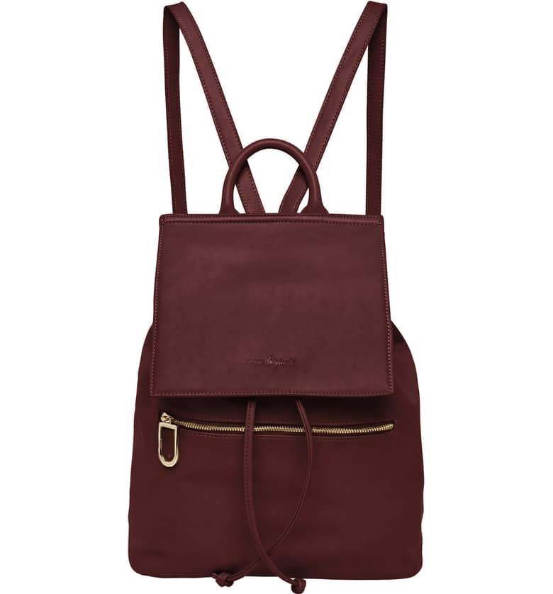 Vegan Leather Hide And Seek Backpack by