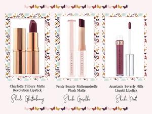 Deep Plum Lipsticks