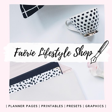 Promotional image for Faërie Lifestyle Shop