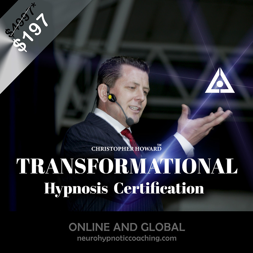 Transformational Hypnosis Certification
