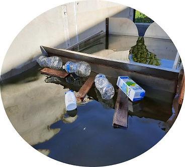 Cloison siphoîde flottante - HYDRASS 3D