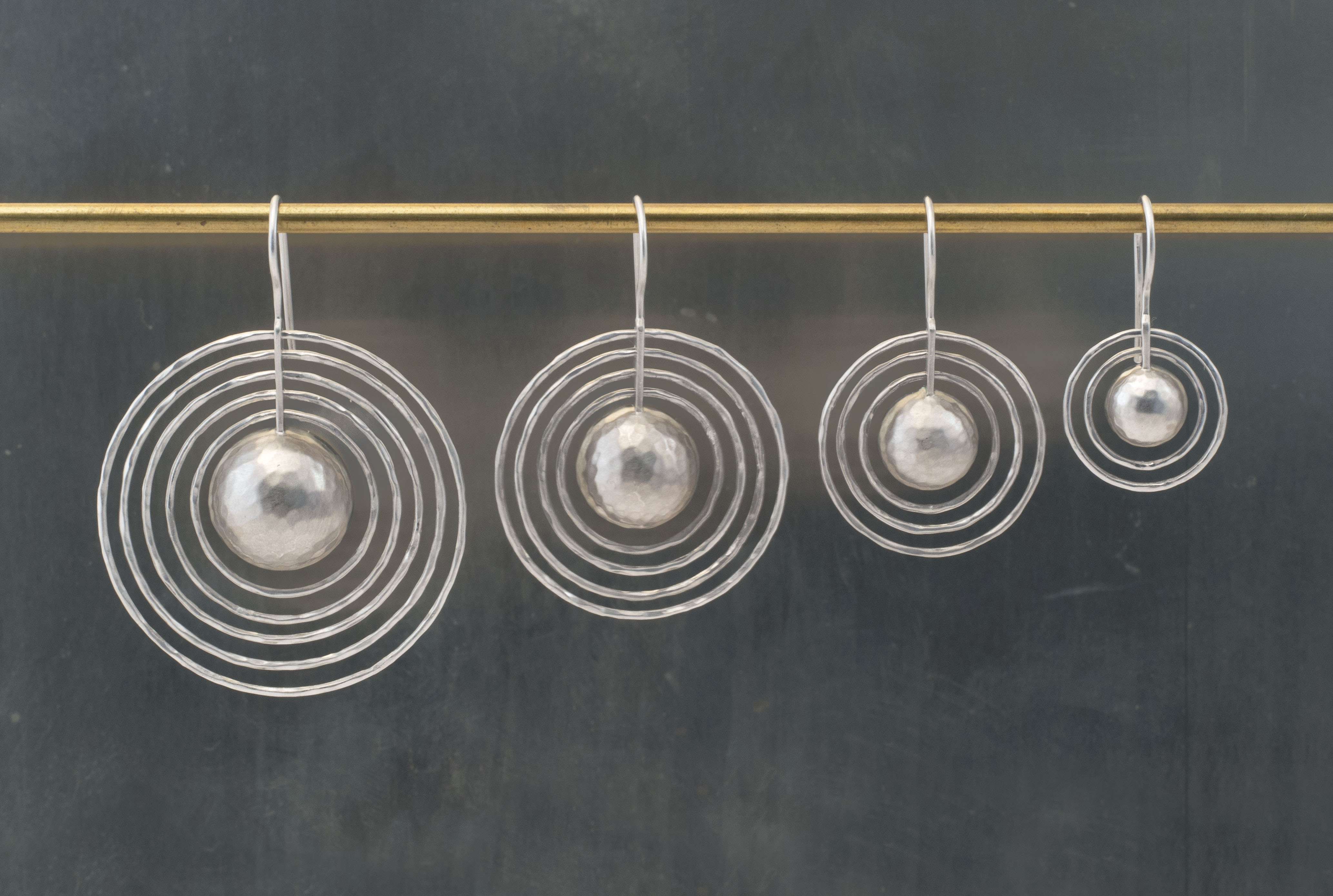 earring line up on nickle SL b