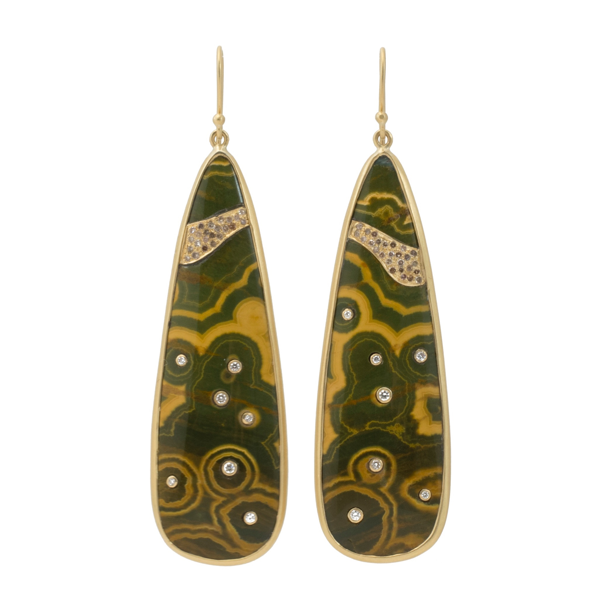 102009 cean jasper earrings